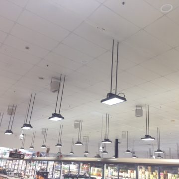 Airius Destratification Retail Aisle Series Fan Installation 3