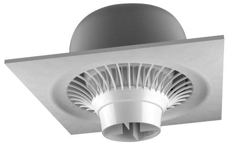 Destratification Fan System Suspended Series.