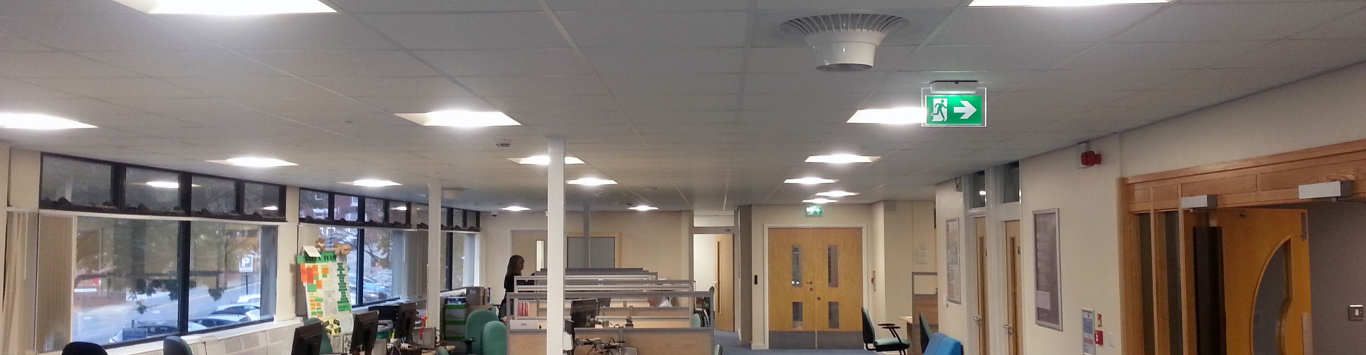 Airius Cooling Fans Maintaining Comfort in an Office