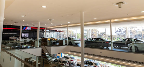 Destratification Fan System Showrooms Featured