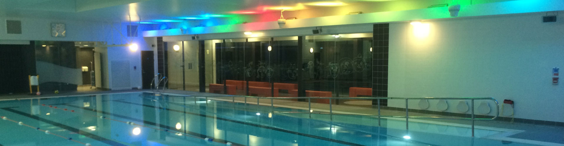 Airius Cooling Fans Maintaining Comfort in a Swimming Pool