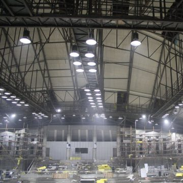 Airius LED Lighting Round High Bay LED Light 27