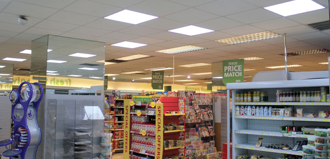 Tescos Install Airius LED Lighting