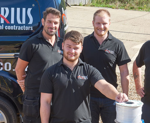 The-Friendly-Electrical-Contracting-Team-At-Airius