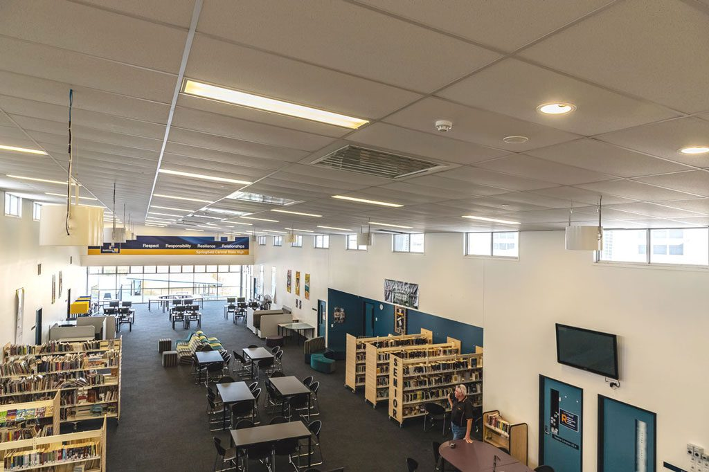 Springfield School Benefits From Airius Cooling 1