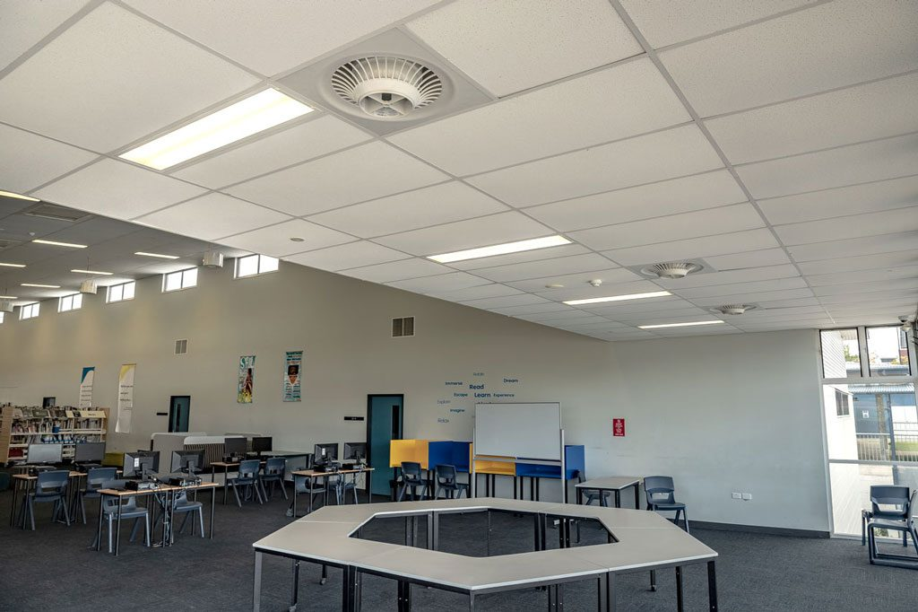Springfield School Benefits From Airius Cooling 2