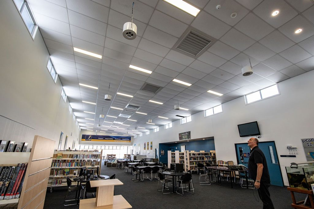 Springfield School Benefits From Airius Cooling 6