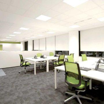 Airius-Aristotle-LED-Office-Light-Install-1