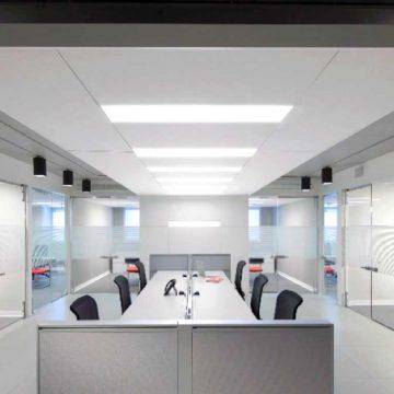 Airius-Aristotle-LED-Office-Light-Install-3