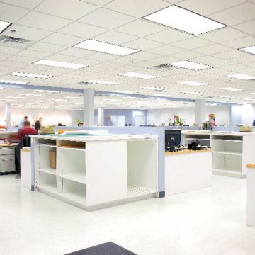 Airius-Aristotle-LED-Office-Light-Install-6