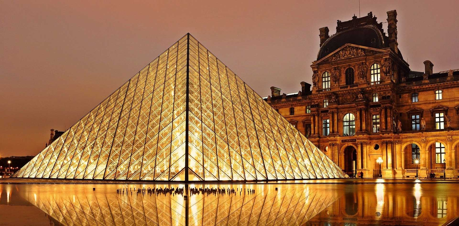 Architectural Lighting Illuminating The Lourve