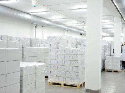 The Airius PureAir Series Purifying Air in A Pharmaceutical Warehouse