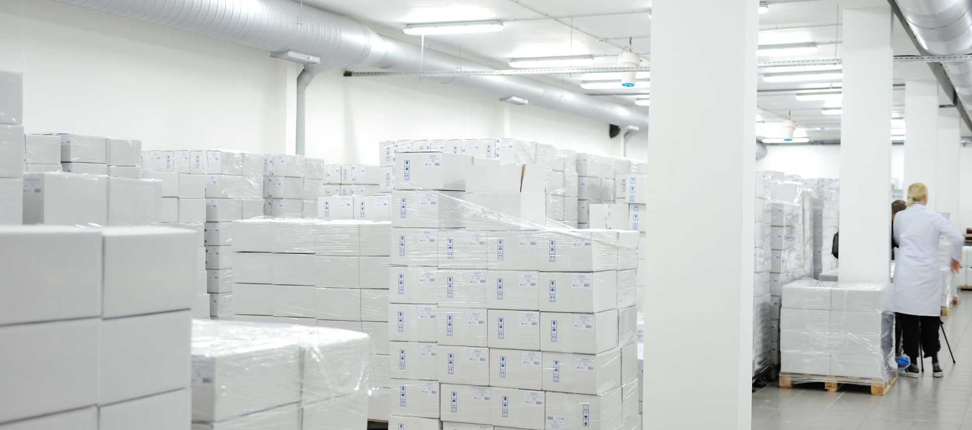 Airius PureAir PHI Air Purification System Installed In Pharmaceutical Warehouse