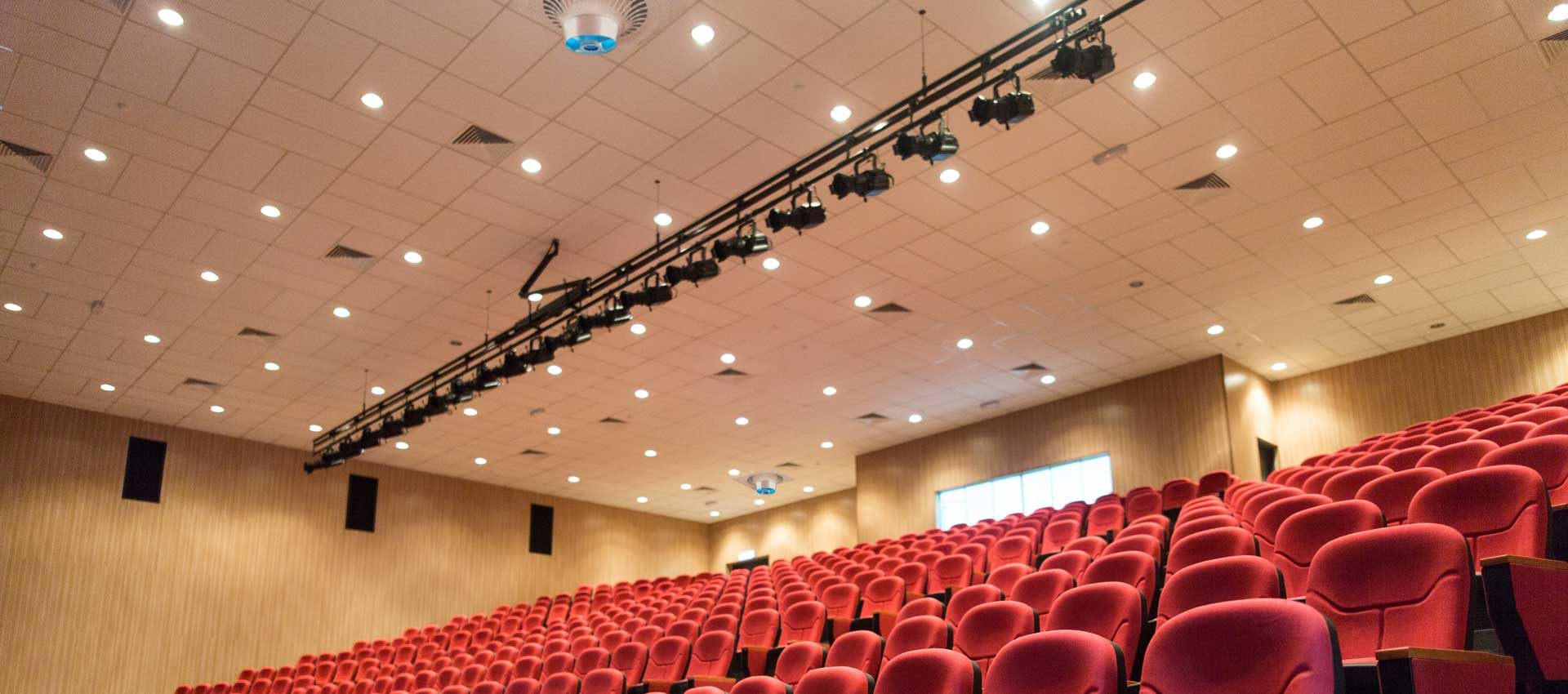 Airius PureAir PHI Air Purification System Installed In a Cinema Theatre