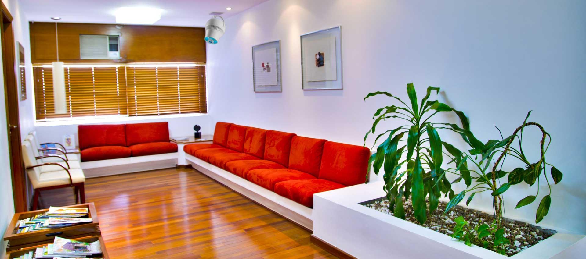 Airius PureAir PHI Air Purification System Installed In a Dentist Waiting Room