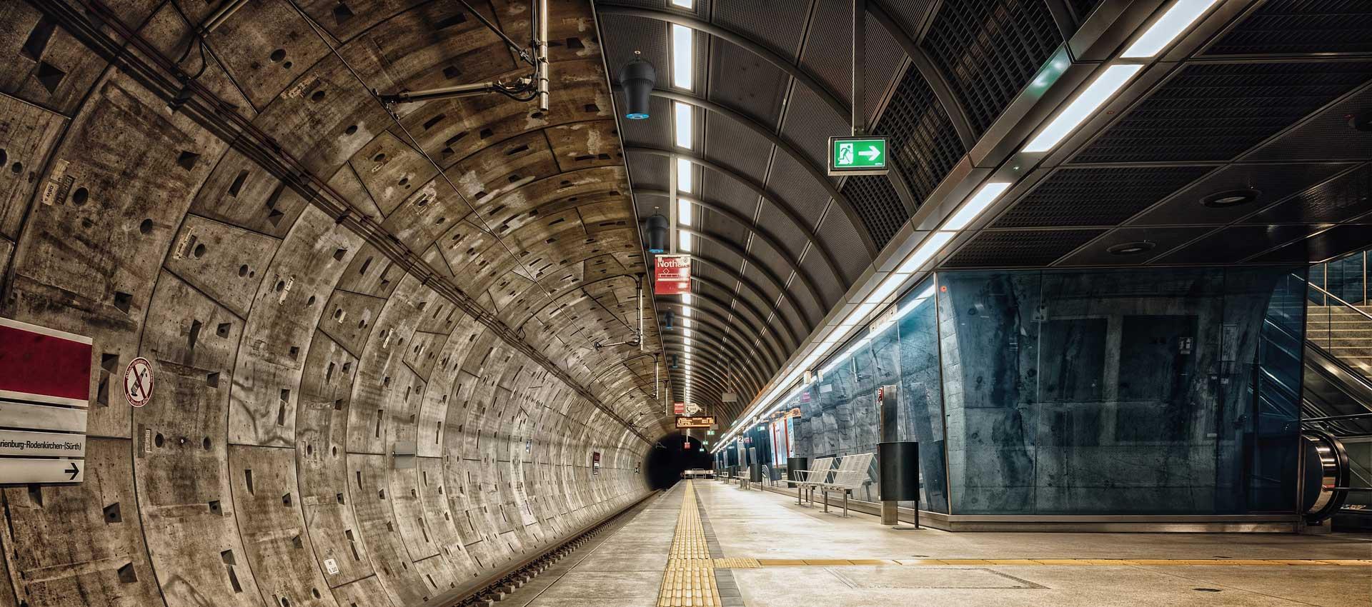 Airius PureAir PHI Air Purification System Installed In Subway Underground