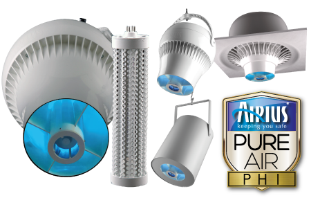 PureAir PHI Commercial Series Air Purification Fans