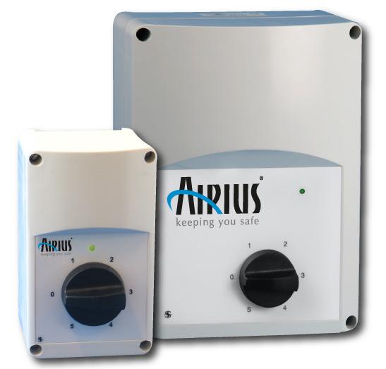Airius PureAir Air Purification Fan Controllers