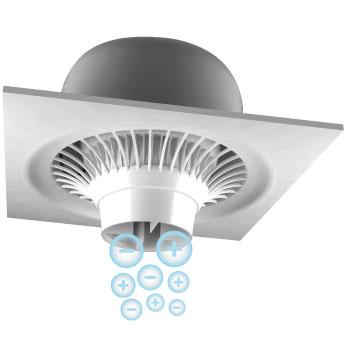 PureAir NPBI Suspended Series Air Purification Fan