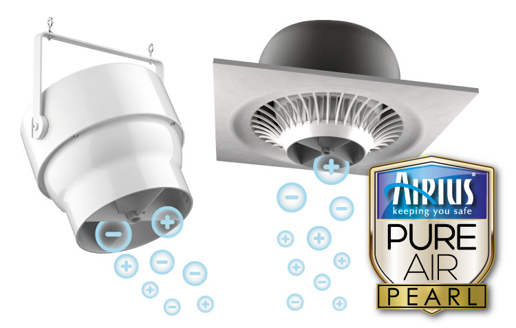 PureAir Pearl Series Air Purification Fans