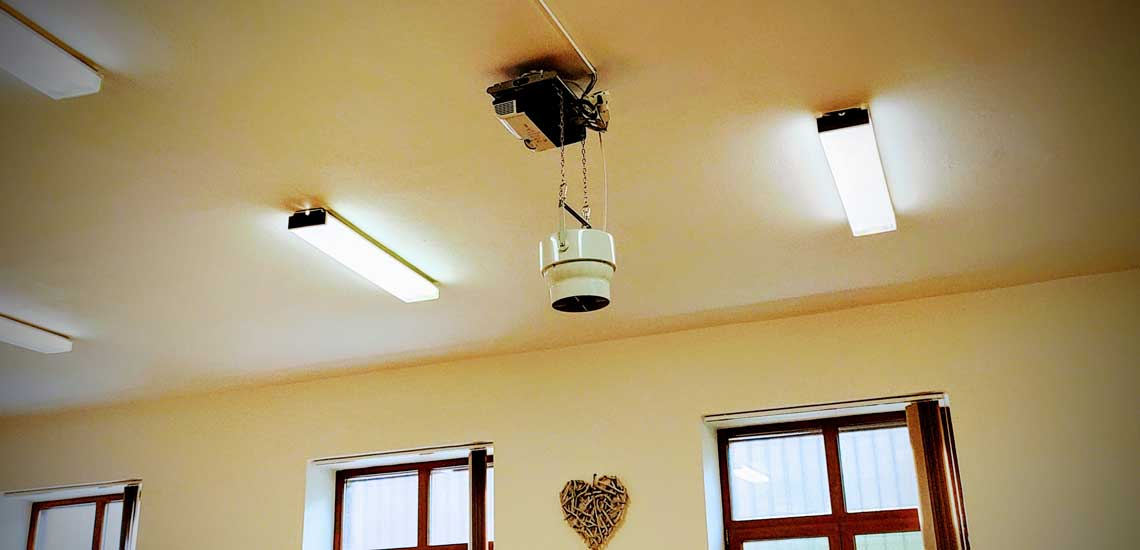 Slovo Zivota Trust in the Airius PureAir Pearl Air Purification System