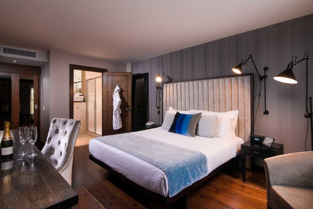The Twelve Hotel Rooms Supplied with BiPolar Ionisation Air
