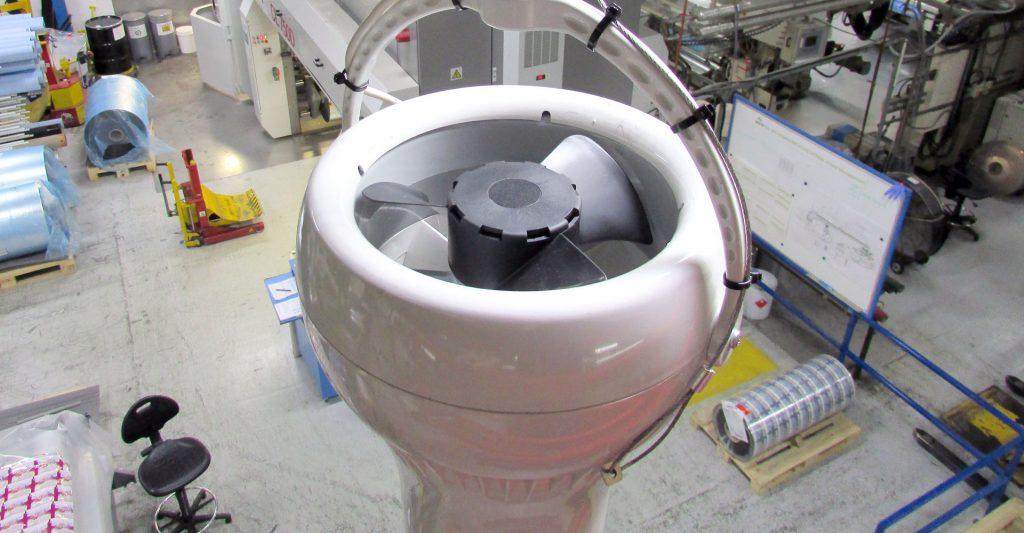 Airius Warehouse Ceiling Fans Keeping Saciflex Staff Warm