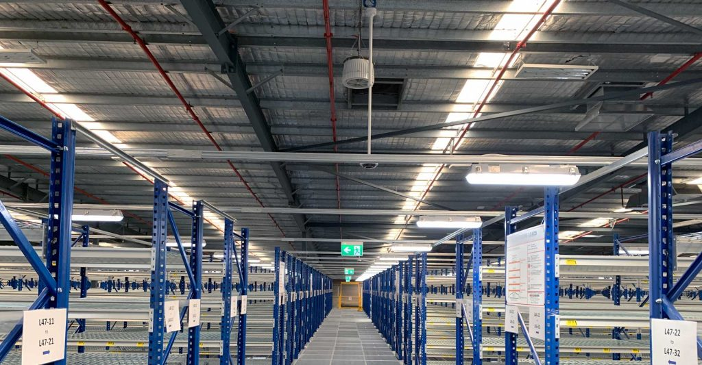 Airius Warehouse Ceiling Fans Keeping The Iconic Staff Comfortable