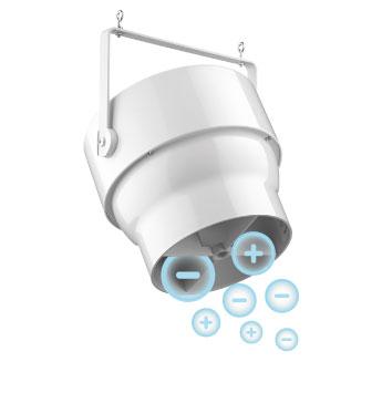 PureAir Pearl Standard Series Air Purification Fan